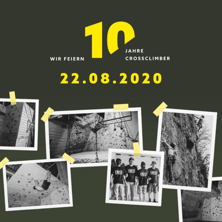 10-Jahre CrossClimber Jubiläum